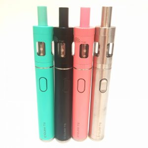 vape, vaping, mouth to lung, starter kit, innokin, t18(e), basic, pink, teal, black, silver