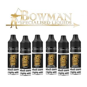 Bowman's Britannia Gold | Every Cloud Vape Distribution