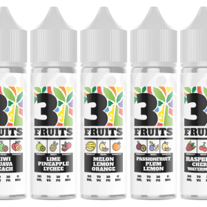 3 Fruits - 50ml | E-Liquid | Every Cloud Vape Distribution